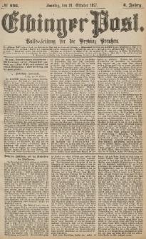 Elbinger Post, Nr.246 Sonntag 21 Oktober 1877, 4 Jh