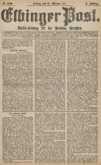 Elbinger Post, Nr.250 Freitag 26 Oktober 1877, 4 Jh