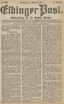 Elbinger Post, Nr.258 Sonntag 4 November 1877, 4 Jh