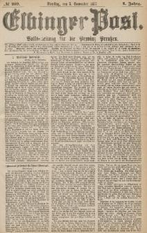 Elbinger Post, Nr.259 Dienstag 5 November 1877, 4 Jh