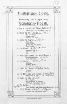 Schumann-Abend