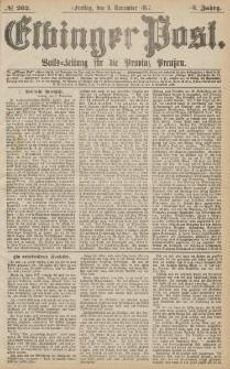 Elbinger Post, Nr.262 Freitag 9 November 1877, 4 Jh