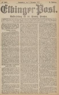 Elbinger Post, Nr.281 Sonnabend 1 Dezember 1877, 4 Jh
