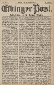 Elbinger Post, Nr.282 Sonntag 2 Dezember 1877, 4 Jh