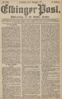 Elbinger Post, Nr.287 Sonnabend 8 Dezember 1877, 4 Jh