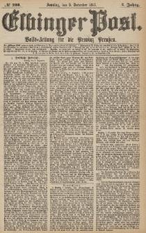 Elbinger Post, Nr.288 Sonntag 9 Dezember 1877, 4 Jh