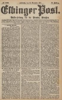 Elbinger Post, Nr.290 Mittwoch 12 Dezember 1877, 4 Jh