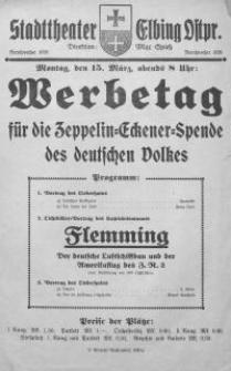 Werbetag für die Zeppelin-Eckener-Spende des deutschen Volkes. Flemming : Der deutsche Luftschiffbau und der Amerikaflug