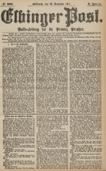 Elbinger Post, Nr.296 Mittwoch 19 Dezember 1877, 4 Jh