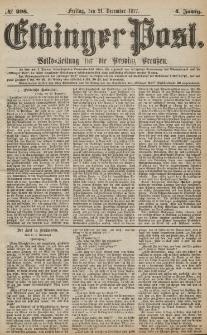 Elbinger Post, Nr.298 Freitag 21 Dezember 1877, 4 Jh
