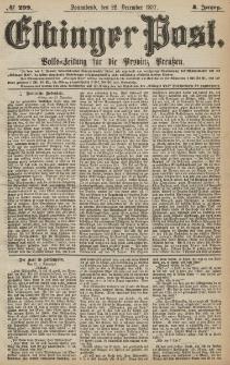 Elbinger Post, Nr.299 Sonnabend 22 Dezember 1877, 4 Jh