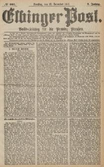 Elbinger Post, Nr.301 Dienstag 25 Dezember 1877, 4 Jh