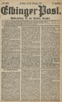 Elbinger Post, Nr.304 Sonntag 30 Dezember 1877, 4 Jh