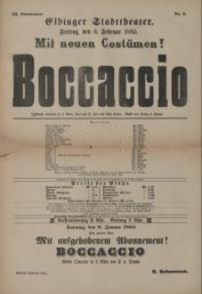Boccaccio - F. Zell, Richard Genee
