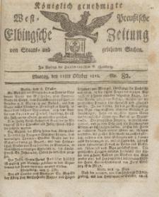 Elbingsche Zeitung, No. 82 Montag, 12 Oktober 1812