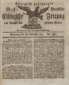 Elbingsche Zeitung, No. 97 Donnerstag, 3 Dezember 1812