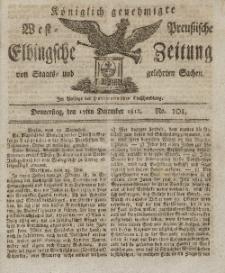 Elbingsche Zeitung, No. 101 Donnerstag, 17 Dezember 1812