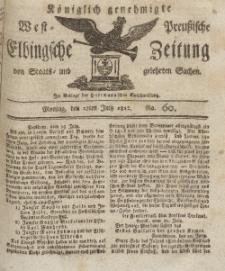 Elbingsche Zeitung, No. 60 Montag, 27 Juli 1812