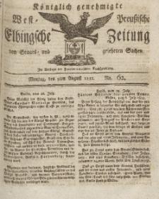 Elbingsche Zeitung, No. 62 Montag, 3 August 1812
