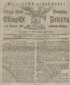 Elbingsche Zeitung, No. 8 Montag, 26 Januar 1818
