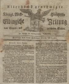 Elbingsche Zeitung, No. 10 Montag, 2 Februar 1818