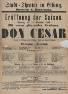 Don Cesar - D. Walther