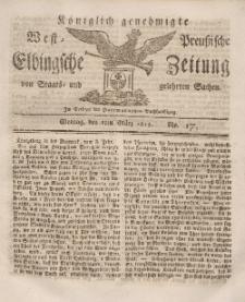 Elbingsche Zeitung, No. 17 Montag, 1 März 1813