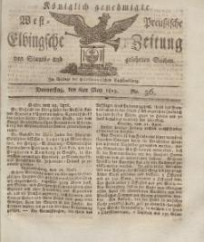 Elbingsche Zeitung, No. 36 Donnerstag, 6 Mai 1813