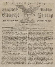 Elbingsche Zeitung, No. 44 Montag, 1 Juni 1818