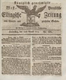 Elbingsche Zeitung, No. 66 Donnerstag, 19 August 1813