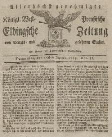 Elbingsche Zeitung, No. 51 Donnerstag, 25 Juni 1818