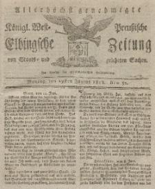 Elbingsche Zeitung, No. 52 Montag, 29 Juni 1818