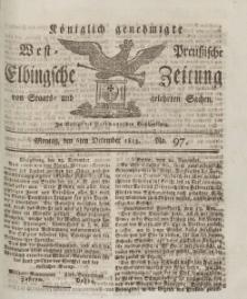 Elbingsche Zeitung, No. 97 Montag, 6 Dezember 1813
