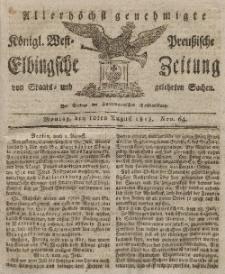 Elbingsche Zeitung, No. 64 Montag, 10 August 1818