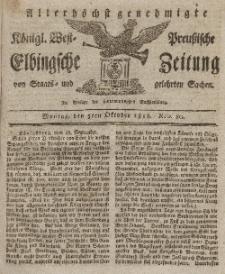 Elbingsche Zeitung, No. 80 Montag, 5 Oktober 1818