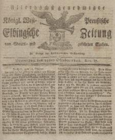Elbingsche Zeitung, No. 87 Donnerstag, 29 Oktober 1818