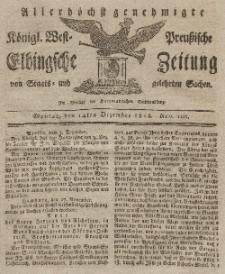 Elbingsche Zeitung, No. 100 Montag, 14 Dezember 1818