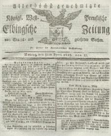 Elbingsche Zeitung, No. 27 Montag, 5 April 1819