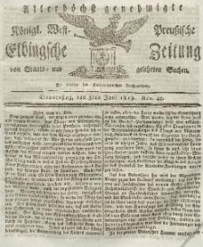 Elbingsche Zeitung, No. 44 Donnerstag, 3 Juni 1819