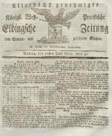 Elbingsche Zeitung, No. 51 Montag, 28 Juni 1819