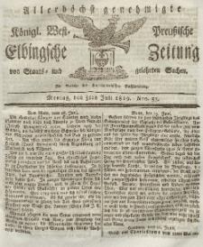 Elbingsche Zeitung, No. 53 Montag, 5 Juli 1819