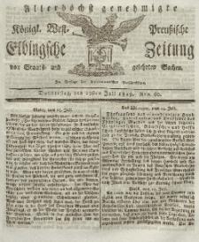 Elbingsche Zeitung, No. 60 Donnerstag, 29 Juli 1819