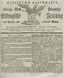 Elbingsche Zeitung, No. 90 Donnerstag, 11 November 1819