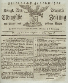 Elbingsche Zeitung, No. 97 Montag, 6 Dezember 1819