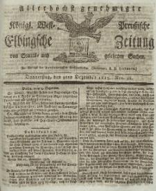 Elbingsche Zeitung, No. 98 Donnerstag, 9 Dezember 1819