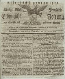 Elbingsche Zeitung, No. 102 Donnerstag, 23 Dezember 1819