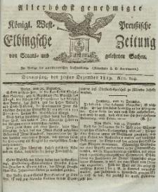 Elbingsche Zeitung, No. 104 Donnerstag, 30 Dezember 1819
