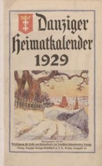 Danziger Heimatkalender 1929