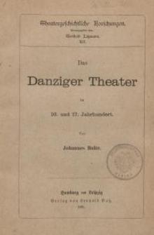 Das Danziger Theater