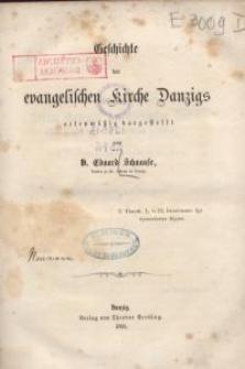 Geschichte der evangelischen Kirche Danzigs